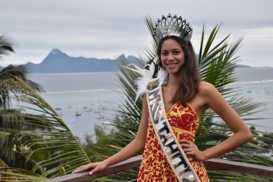 mataharie Bousquet - miss tahiti 2020